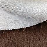 325GSM pegó con la tela del sofá del terciopelo del hielo del forro del Tc (el RÍO)