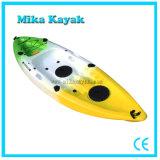 Pesca plástica del juguete del kajak de Rotomold del barco de vela del solo asiento