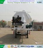 aanhangwagen van de Vrachtwagen van de Tanker van het Cement van het Type Verticle 3axles van 50cbm de Bulk Semi