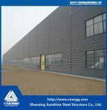 Costruzione ad un piano della struttura d'acciaio con il materiale Q235 per il workshop