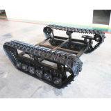 Chassis / Undercarriage com rótula de borracha para máquina pequena (tamanho ajustável)
