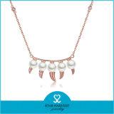 De charmante Juwelen van het Messing van de Kwaliteit van de Tegenhanger van Dame Fashion Zoet water (n-0330)