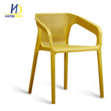 Mejor Venta de Jardín silla apoyabrazos de plástico de apilamiento de Ocio