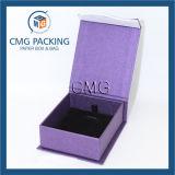 Boîte-cadeau pourpre romantique d'emballage de bijoux (CMG-PJB-031)