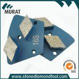 De Schurende Schijf van de Diamant van het Trapezoïde van de Band van het metaal voor het Concrete/Malen van de Steen