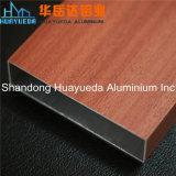 le Decking composé des graines 3D en bois conçoit le profil en aluminium