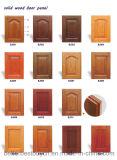 Novo design do armário de cozinha em madeira maciça