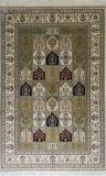 Сад дизайн персидский ковер из шелка ковры ручной работы