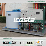 Icesta 10tons/24hrs Industrial Flake Ice Machine für Sale