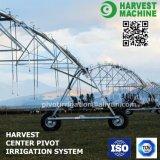 Sistema de irrigación chino de la granja para el movimiento lateral con la regadera del aerosol del extremo