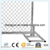 Noi l'acciaio mobile standard rivestiamo il comitato di pannelli provvisorio della rete fissa