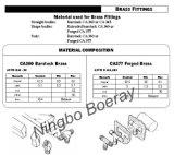 DOT de tubes de frein pneumatique de raccord en T en nylon