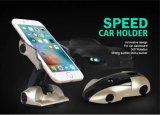 Sostenedores frescos del coche de la dimensión de una variable del coche deportivo sostenedor pegajoso del teléfono móvil del montaje del coche de la rotación de 360 grados