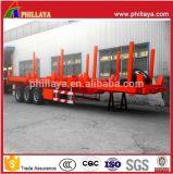 du yard 40ton-60ton de Highbed du camion 20-40FT de conteneur de lit plat remorque terminale semi