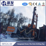 Hfga-44 DTH automático equipo de perforación de superficie, hidráulica Máquina taladradora portátil fabricado en China