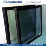 Vente en gros en verre enduite isolante en verre E de double de sûreté de construction de bâtiments en verre inférieur de l'argent