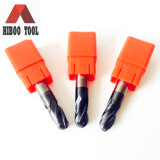 Hete Wholesale HRC55 4z Ball Nose Metal Cutting Tools