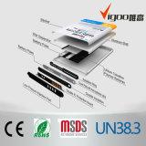 Batterie de téléphone cellulaire de batterie Li-ion de cycle pour C664404140L bleu Yezz