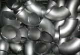 A soldadura de extremidade do aço inoxidável TP304 soldou 90 graus LR cotovelo de 5 polegadas