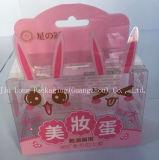 PVC transparente maquillaje cosmético Embalaje