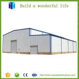 La conception de la construction de deux étages de la structure en acier de construction préfabriqués de l'entrepôt