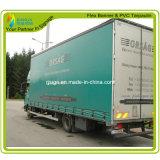 Geteerde zeildoek van pvc van de vrachtwagen het Dekking Gelamineerde (RJLT002)