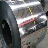 정규 반짝이를 가진 강철 코일이 0.12-0.8mm 강철 물자에 의하여 직류 전기를 통했다