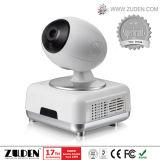Alarme de roubo GSM de segurança doméstica com câmera IP trabalhando