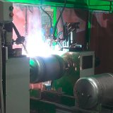 電気給湯装置内部タンク生産ライン