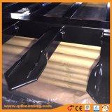 Barriera di sicurezza di alluminio della parte superiore del germoglio del rivestimento della polvere