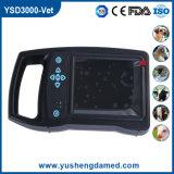 Блок развертки ультразвука CE Ysd3000-Vet Approved ветеринарный Handheld
