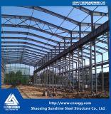 Edifício da construção de aço com material Q235 para a oficina do armazém
