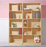 Bibliothèque en bois d'étagère de couleur de type du Northern Europe de modèle moderne