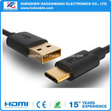 Tipo C Cable TPE Goldplated Conector USB 3.0 tipo C (USB-c) en el cable USB