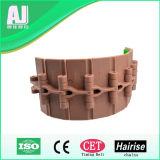 Tampon en caoutchouc antidérapant unique Haut de la chaîne du convoyeur en plastique de la charnière