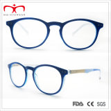 Spätestes Fashion Round Frame und Colorful Temple Ladys Reading Glasses (WRP507257)