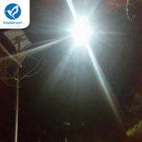 100W luz al aire libre solar de la pared del jardín LED con la batería de litio