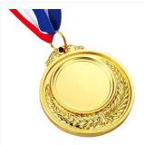Custom acabado brillante de oro olímpica de plata de bronce medallas para la venta