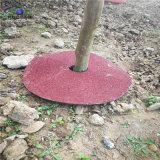 Anel de árvore redonda de borracha reciclada Mats 24 polegada