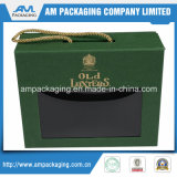 con Handle&Window Luxury Packaging Bespoke Recycled Paper Gift Box