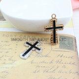 La moda Crucifijo Colgante Cruz para el bricolaje Accesorios piezas hechas a mano collar