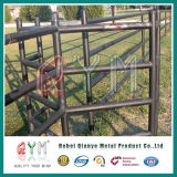 Cheval de PVC Clôture Barrière/ Cheval galvanisé à chaud des panneaux de feux de croisement