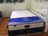 安いPUのベッドのスプリング入りマットレス