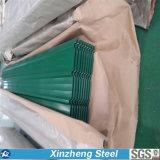 Folha ondulada galvanizada, telhadura galvanizada da telhadura do ferro