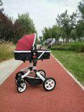 Carrinho de criança de bebê novo do projeto com frame de dobramento