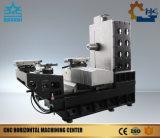 Centro de mecanización horizontal del CNC de la alta velocidad del eje de rotación H100