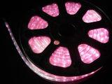 Décoration de maison de système de Noël de lumière de corde de lumière de rose de bande de DEL