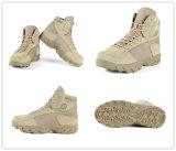 Звероловство тактической воинской пустыни Tan хаки обувает ботинки боя