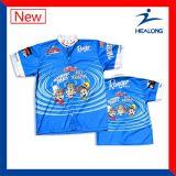 中国の熱い販売の衣類の人のためのカスタムSublimaton釣ワイシャツ