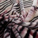 Stampato pensare la coperta del visone di Raschel di inverno 5kg